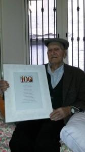 I suoi 100 anni
