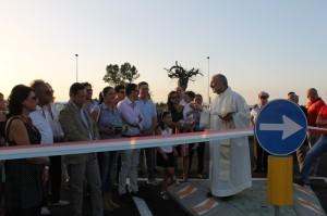 L'inaugurazione dell'asse Frasso-Scalo