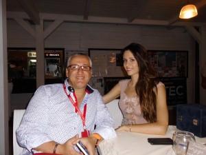 Il Giornalista Antonio Le Fosse intervista la Miss Mondo Italia Silvia Cataldi