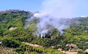 Incendio di Albidona contrada Cafaro