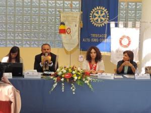 Un momento dell'assemblea regionale del Rotaract