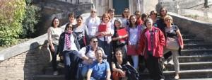 Altra foto del coro a Roma