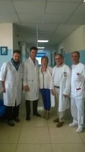 La visita di Callipo al presidio dell'Azienda Sanitaria Locale n°3 di Cassano allo Ionio