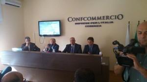 """La presentazione, presso la sede di Confcommercio di Cosenza, del bando """"Treno del Parco"""""""