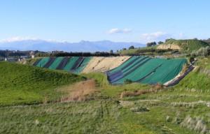 La discarica di Cotrica, a Corigliano
