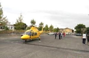 Piazzale Willy Brandt adibito a pista di atterraggio