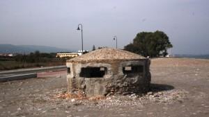 Una casamatta presente sulla spiaggia rossanese