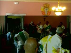 L'incontro tra i sindaci di Alessandria del Carretto e di Palmi
