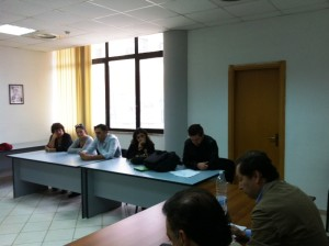 L'incontro tra alcuni esponenti dell'amministrazione comunale rossanese e i responsabili del comitato di Bucita