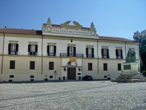 Il Palazzo della Provincia a Cosenza