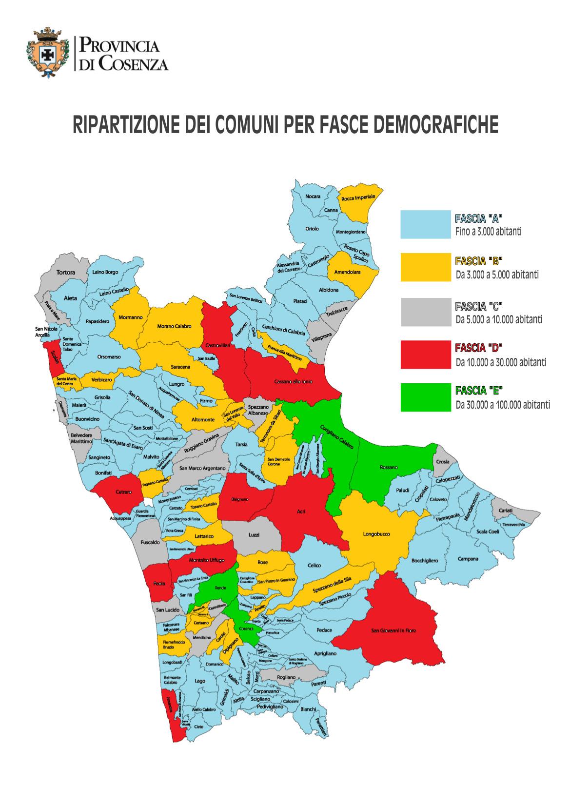Cartina Geografica Cosenza E Provincia.Nuova Provincia Di Cosenza Nel Consiglio Non C E Traccia