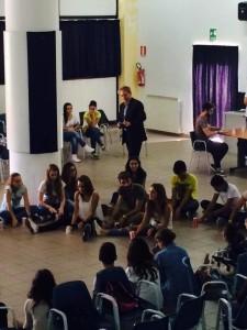 """Gli studenti del liceo """"Mattei"""" di Castrovillari"""