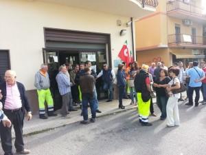 protesta inps castrovillari