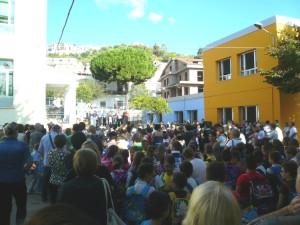 L'inaugurazione della Scuola Primaria di Trebisacce (settembre 2013)