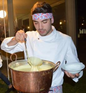 Emanuele Lecce, l'altro chef che il 10 novembre sarà presente sul palco del Teatro del Gusto