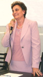 """Maria Zanoni, vincitrice del premio speciale """"Donna dell'anno 2014 per Cultura e Territorio"""""""