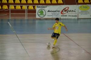 Dell'Andrea, ha segnato la rete del momentaneo 1-0 dell'Odissea 2000 contro la Libertas Eraclea