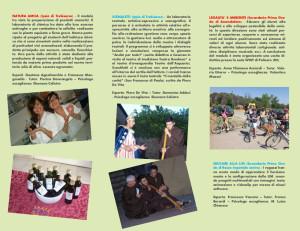 Brochure di descrizione Agorà Multimediale - retro