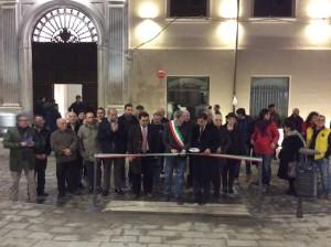"""L'inaugurazione della """"nuova"""" Piazza del Popolo"""