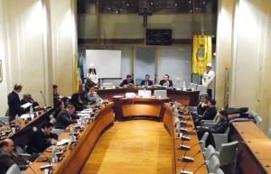 Consiglio comunale a Rossano del 17-12-2014