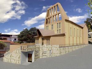 """Come sarà la nuova Chiesa del """"Cuore Immacolato della B.V.M."""""""