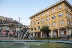 Piazza della Repubblica con il Palazzo di Città