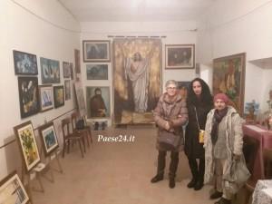 mostra quadri natale amendolara '14