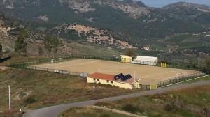 Il campo sportivo di Pietrapaola