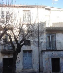 Casa in cui dimorò a Castrovillari una famiglia di ebrei. Foto di Francesco Propato