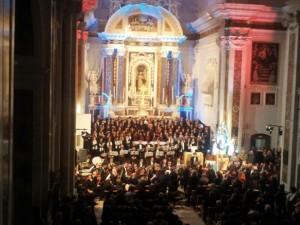 Il concerto diretto dal M° Mons. Frisina