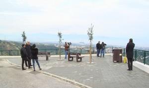 L'area panoramica della Montagna Spaccata