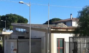 L'immobile comunale interessato dai lavori