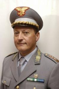 Il Comandante provinciale del Corpo Forestale, Giuseppe Melfi