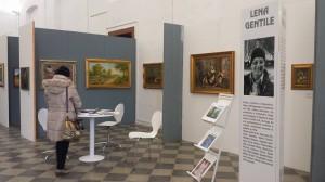 Lo spazio espositivo di Lena Gentile alla Biennale di Palermo