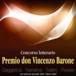 """Locandina """"Premio don Vincenzo Barone"""""""