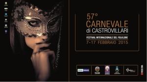 Il manifesto della 57esima edizione del Carnevale di Castrovillari