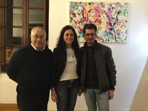 Il presidente della Fita con l'assessore alla cultura di  Cosenza Rosaria Succurro
