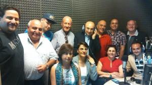 La delegazione in Argentina