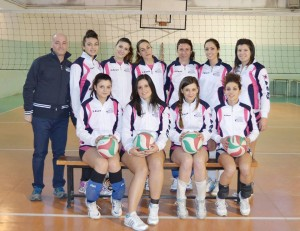 Le ragazze della New Volley Roscianum