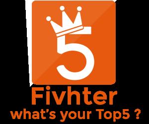 """Il logo di Fivhter, il social network realizzato da ragazzi calabresi e dedicato alle nostre """"top five"""""""
