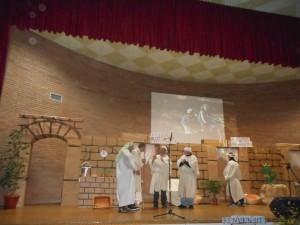 Un momento dell'evento Note di libertà, che si è svolto presso il carcere circondariale di Rossano