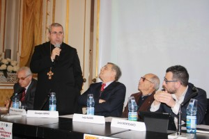 """Un momento dell'iniziativa  l'evento """"Shoah, la testimonianza di Luigi Algieri"""""""