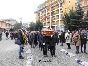 Ultimo saluto al giovane docente rossanese trovato morto in Tunisia (Foto del Reporter Antonio Le Fosse)