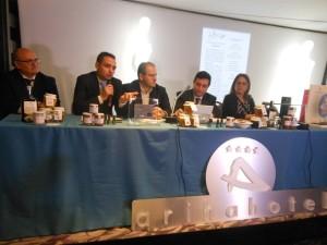 Un momento della presentazione, a Rende, di Casa Sanremo