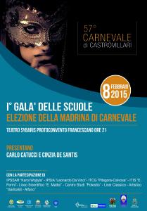 "Manifesto ""Madrina di Carnevale"""
