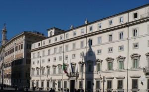 Palazzo Chigi a Roma, dove si riunisce il Cipe