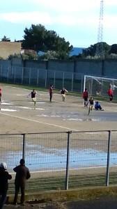 Trebisacce-Garibaldina, il gol dei locali