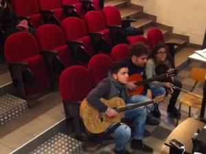 Il gruppo musica e suono del liceo classico di  rossano