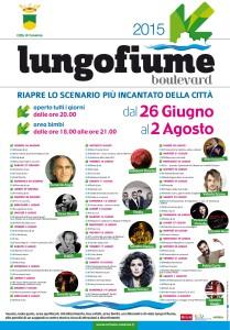 Programma Lungofiume Boulevard 2015