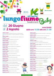 "Programma Lungofiume Boulevard 2015 ""Baby"""